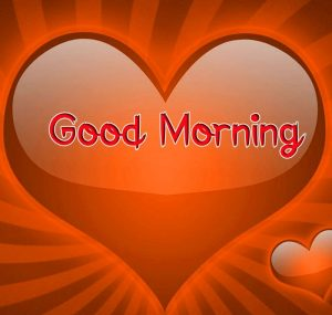 new red heart Good Morning pics hd