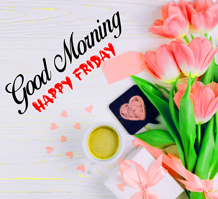 latest Good Morning Happy Friday flower images hd