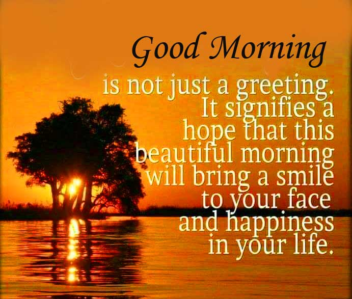 Best Quoted Good Morning Image