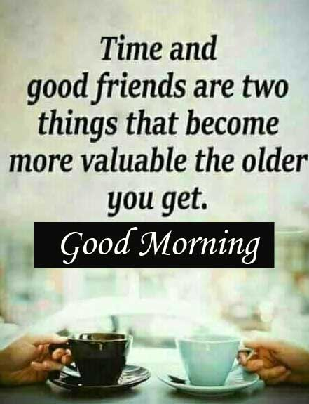 Good Morning with Quote Image Full HD