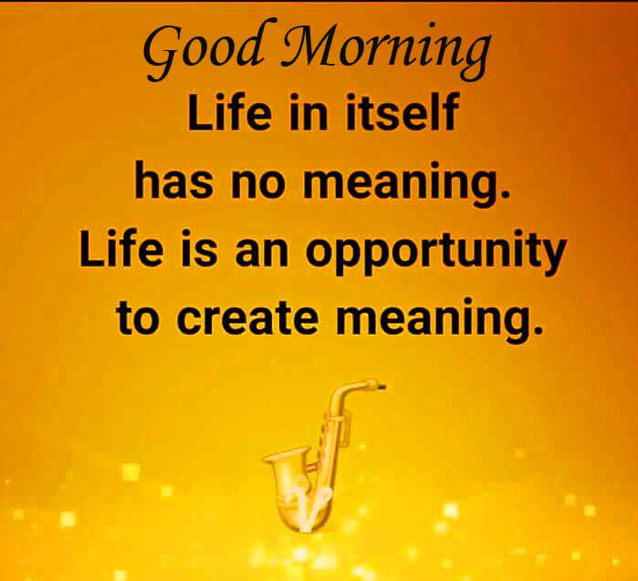 Good Morning with Quote Image HD