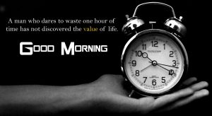 Value of Time Quotes Good Morning Image