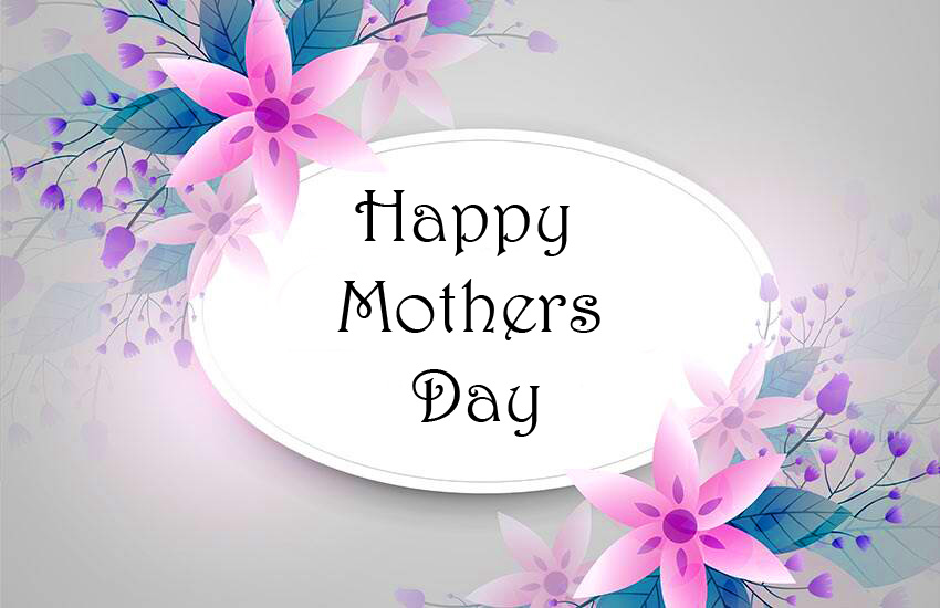 Flral Happy Mothers Day Wish Image