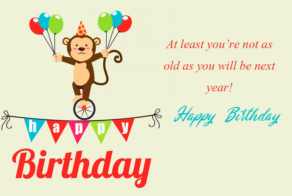 Funny Happy Birthday Image and Wallpaper