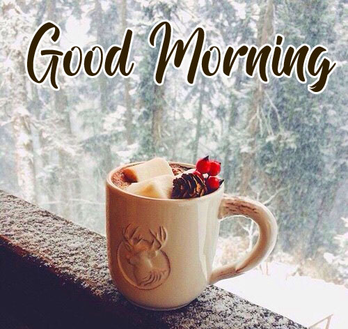 Good Morning Coffee in Winter Image
