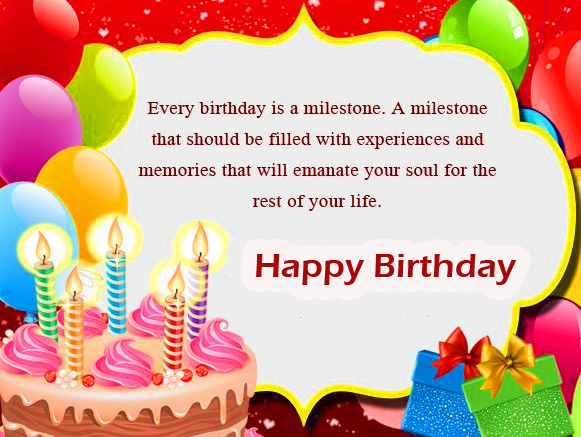 Happy Birthday Message for Friend Image