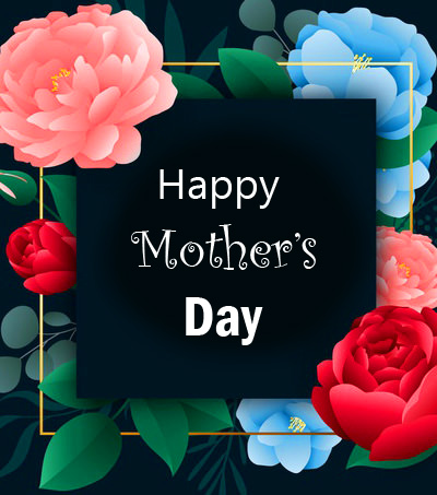 Happy Mothers Day Flowers Wish Wallpaper