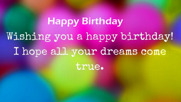 Latest Happy Birthday Message Picture HD