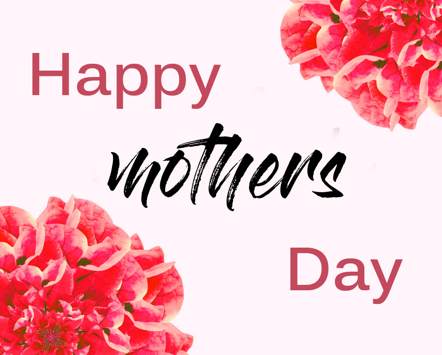 Pink Flowers Happy Mothers Day Wallpaper