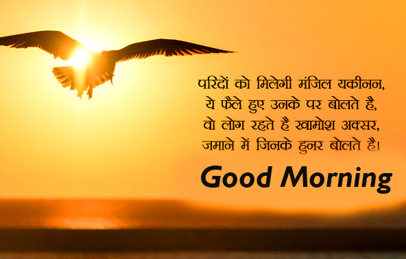 Best Hindi Quote Good Morning Image