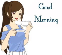 Good Morning Animated Girl Picture