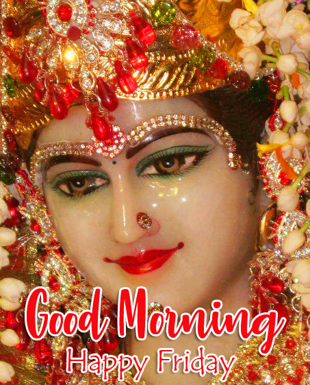 Maa Durga Good Morning Happy Friday Picture