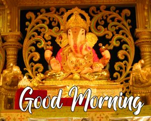 Shri Ganesha Good Morning Pic