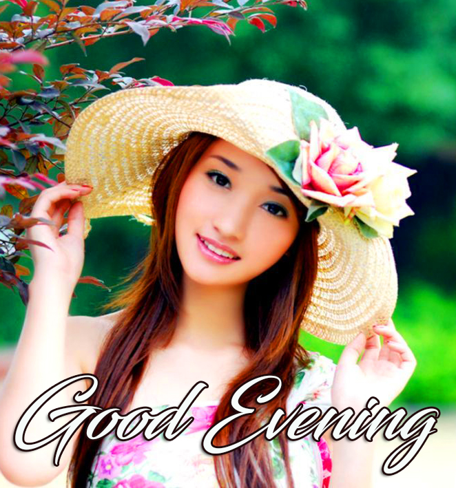 Girl Cute Good Evening Image