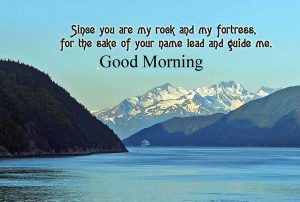 God Guide Me Message Good Morning Image