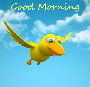 Good Morning Cute Bird Picture