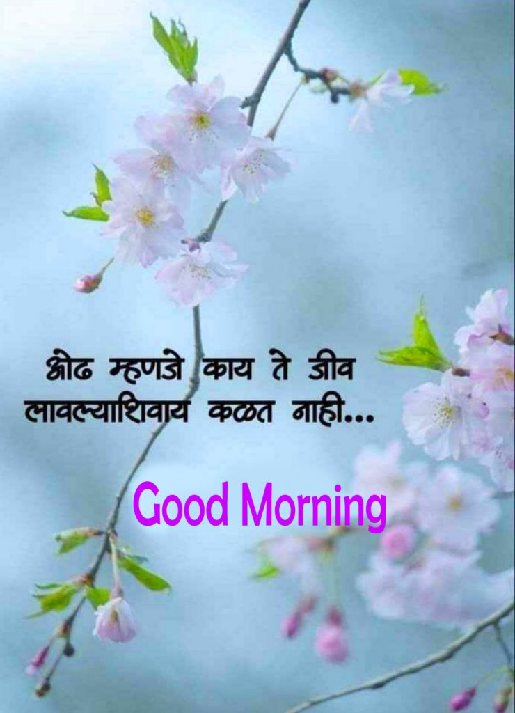 58+ Good Morning Images with Quotes in Marathi