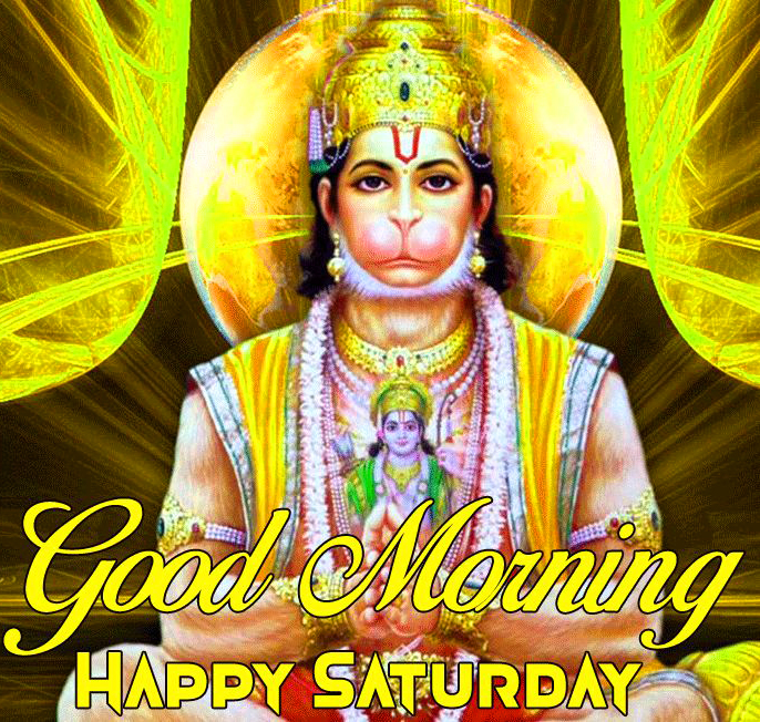 Hindu Lord Good Morning Happy Saturday Picture