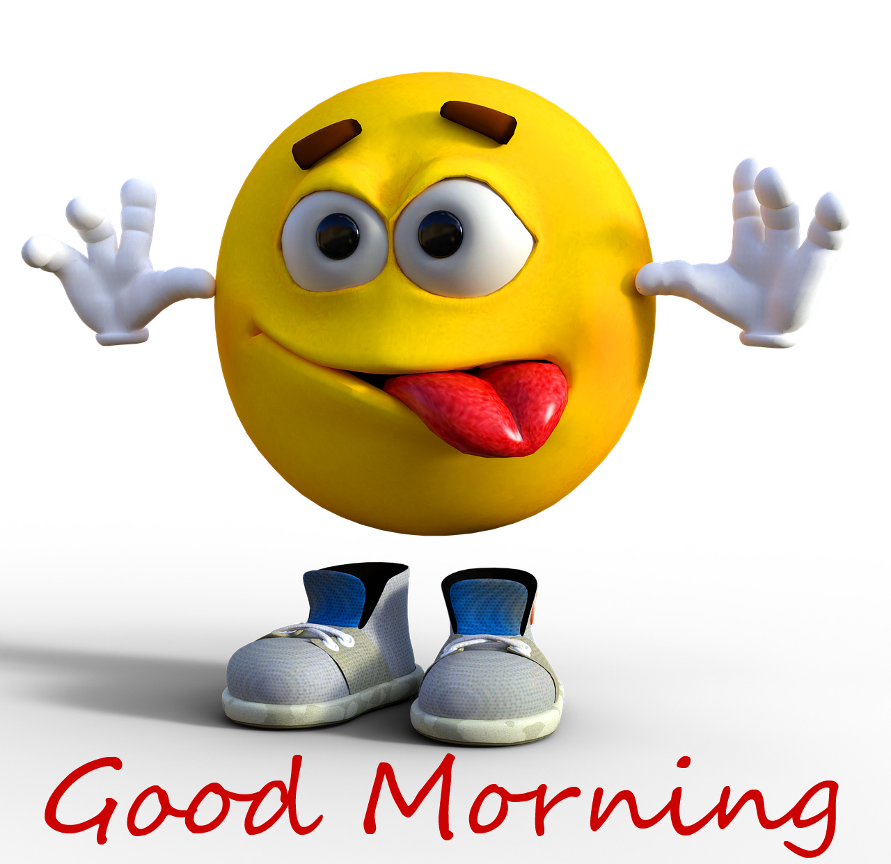 Smiley Cute Cartoon Good Morning Picture